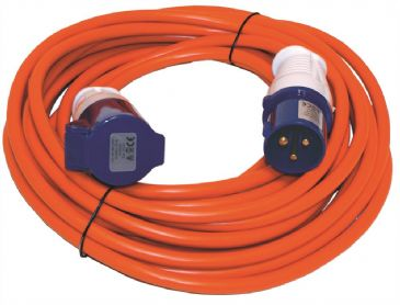 Leisurewize 10 Metre Mains Extension Lead Hook up Cable